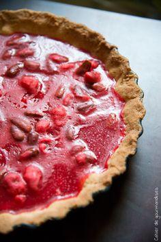 Pralines Pie - Tarte aux pralines #pralines #tart #pie