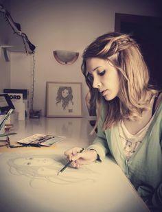 Mercedes DeBellard, ilustradora. TENMAG Magazine September 2015