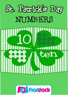 St. Patrick's Day Numbers 1 Through 10 Puzzles