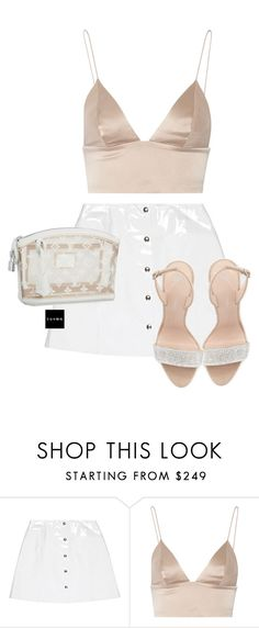"""Untitled #1530"" by elinaxblack ❤ liked on Polyvore featuring Veil London, Louis Vuitton, T By Alexander Wang and Giuseppe Zanotti"
