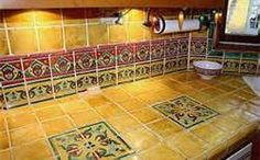 saltillo tile kitchen countertops - Bing Images
