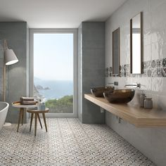 Antique white tiles are stylish white wall tiles with a wonderful slight rippled effect finish. These gloss white tiles are perfect as white bathroom or kitchen tiles and will look stunning in modern or traditional designs.