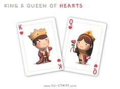 HJ-Story king and queen of hearts