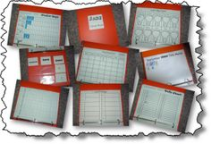 Calendar Folders for students to follow along with the smart board, and possibly the classroom calendar