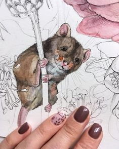 Since we've been the go-to site for watercolor techniques, watercolor painting ideas & watercolor tutorials. Learn how to paint! Watercolor Painting Techniques, Watercolor Sketchbook, Watercolor And Ink, Watercolor Illustration, Animal Drawings, Art Drawings, Drawing Art, Ink Illustrations, Watercolor Animals