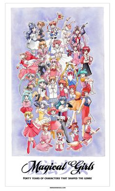Forty Years of Magical Girls