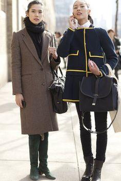 Coats of NYFW #everivyclothing #fashion #streetfashion #streetstyle #trend #look #fashionweek