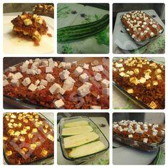 ZUCCHINILASAGNE Rezept: http://babsiskitchen-foodblog.blogspot.de/2015/09/zucchinilasagne.html