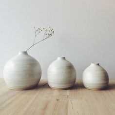 Pretty small bud vases from @etsy