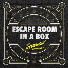 Escape Room In A Box | The Werewolf Experiment™ Library Programs, Escape Room, Team Building, Escape Games, Werewolf, Google Search, Box, Party, Snare Drum