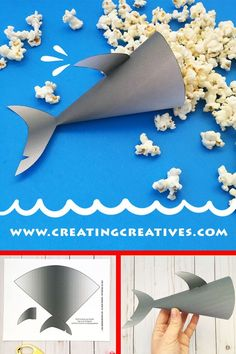 Shark Party Printable Popcorn Holder Source by barbarellca Deco Pirate, Shark Craft, Shark Week Crafts, Shark Party Decorations, Birthday Party Themes, Theme Parties, Shark Birthday Ideas, Shark Birthday Cakes, Mouse Parties
