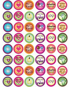 """SET OF 30 /""""WINNIE THE POOH/"""" inspired FLAT  BOTTLECAPS for hairbows /& scrapbook"""