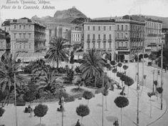 Athens, Omonoia square...long ago