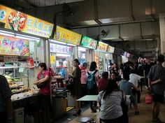 Top Five Hawker Centers in Singapore Maxwell Road  Newton Circus Smith Street Old Airport Road  Lau Pa Sat http://www.hostelworld.com/blog/top-5-hawker-centres-in-singapore/156909