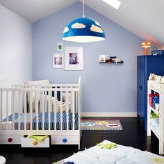 Une suspension originale pour la chambre d'enfant, IKEA