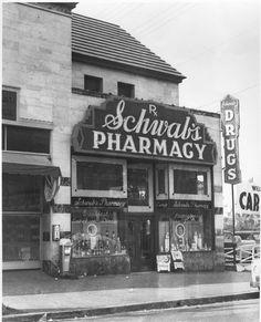 Historic Photograph of Schwab's Pharmacy