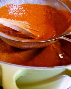 Pipian rojo -mole sauce made out of pumpkin seeds