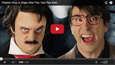 """Who's the real horror lord? Edgar Allan Poe will tell you he is. At least, the Poe represented in the latest Epic Rap Battle video. The famed author and poet faced off against """"Stephen King"""" in the new Epic Rap Battle, and I may be biased, but I think King came out on top. Or maybe the Raven did."""