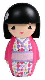 Kokeshi in pink. Momiji Doll, Kokeshi Dolls, Japanese Love, Asian Doll, Kawaii, China Dolls, Doll Quilt, Cat Doll, Textiles