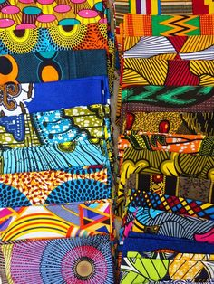 African fabric craft set of 10 different , African wax print fabric Fat eighth bundle, Random 10 Fat Eighth fabric set, quilt fabric - Fabric Crafts African Quilts, African Textiles, African Fabric, Fabric Art, Fabric Crafts, Art Crafts, Pattern Art, Abstract Pattern, Afrique Art