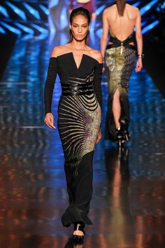 Etro Fall 2013 Ready-to-Wear Fashion Show - Joan Smalls