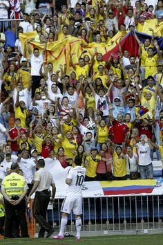 James Rodrigues Real Madrid 40.000 seguidores vieron en directo en el Bernabeu, a James