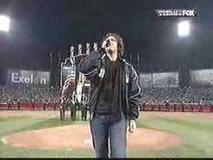 Josh Groban sings national anthem Now that's how it should be done.