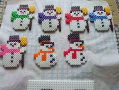Les 7 Bonhommes de neige