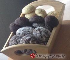 Τα ευκολότερα Soft Cookies με σούπερ γεύση!!!! Συνταγή της Έφης! Soft Cookie Recipe, Cookie Recipes, Xmas Cookies, Greek Recipes, Cupcake Cakes, Cupcakes, Party Time, Blueberry, Biscuits