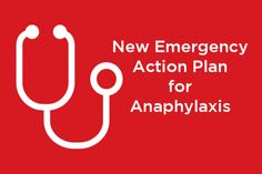 New Allergy and Anaphylaxis Action Plan