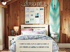 Quarto inspirado no mundo do surf 1