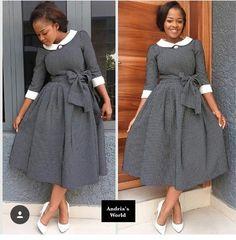 Top Shweshwe print African fashion 2019 For Women's - fashionist now African Print Dresses, African Print Fashion, African Fashion Dresses, African Dress, African Attire, African Wear, African Women, Plus Zise, Shweshwe Dresses