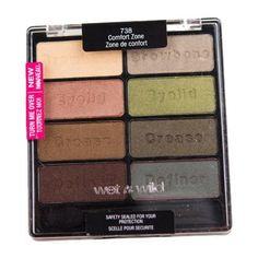 Wet n Wild - Coloricon - Comfort Zone - paleta de sombras R$28.00