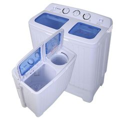 Portable Washing Machine Cleaner Spin Dryer Apartment Washer All In One Laundry Mini Washing Machine, Portable Washing Machine, Washing Machine Cleaner, Washing Machines, Portable Washer And Dryer, Camper Washer And Dryer, Laundry Closet, Laundry Room Storage, Small Apartments