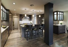 Contemporary style kitchen - contemporary - kitchen - vancouver - Old World Kitchens & Custom Cabinets