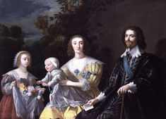 After Gerard van Honthorst (1590–1656) The Duke of Buckingham and his Family