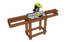How to build a DIY Miter Saw Stand