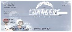 Order San Diego Chargers Checks