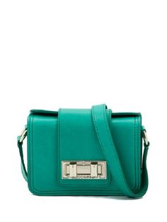 Mini Box Bag- Bright Green
