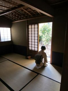 Japanese traditional room for tea ceremony