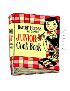 Better Homes and Gardens Junior Cook Book by summerpierre, via Flickr