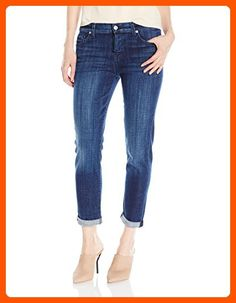 7 For All Mankind Women's Josefina Boyfriend Jeans, Bordeaux Broken Twill, 24 - All about women (*Amazon Partner-Link)