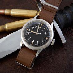 IWC Mark 11 XI Cal 89 1948 Radium Dial Pencil Hands RAF Pilots Watch Watches For Men, Men's Watches, Luxury Watches, Omega Watch, Pencil, Hands, Pilots, Ebay, Accessories