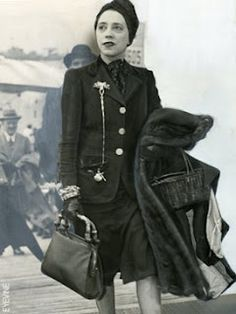 "Elsa Schiaparelli (1890 - 1973) Elsa invented culottes, introduced Arab breeches, embroidered shirts, wrapped turbans, pompom-rimmed hats, barbaric belts, the ""wedge,"" a soled she that would trend through the 20th century and into the next, and mix-and-match sportswear, the concept of which would not be fully recognized for another forty years...."
