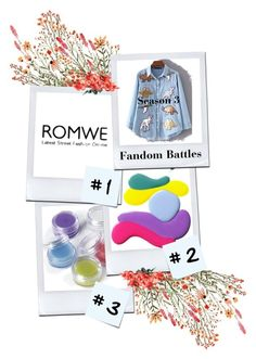 """""""ROMWE"""" by jovostana ❤ liked on Polyvore featuring Post-It"""
