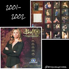 Buffy the Vampire Slayer - 2001-2002 Calendar  #btvscollector #btvs #buffy #buffythevampireslayer
