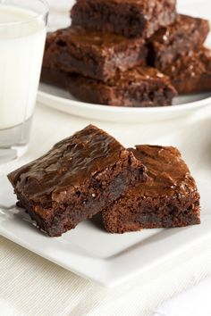 These black bean #brownies are packed with good-for-you ingredients.