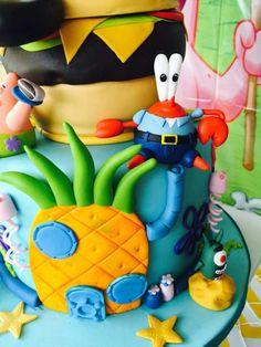 Sponges Bob cake 6