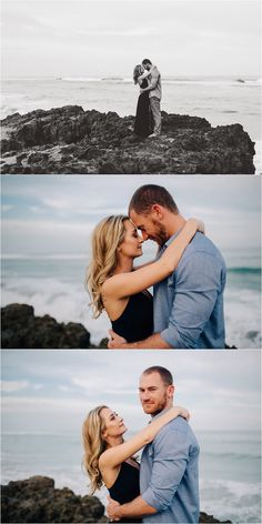 Blowing Rocks engagement photos by the Big Day Photography                                                                                                                                                                                 More