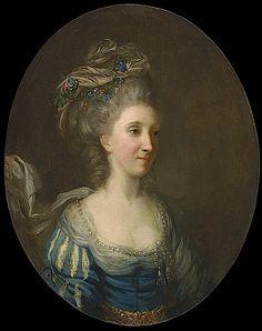 ca. 1770 Marie Fortunée dEste la princesse de Conti